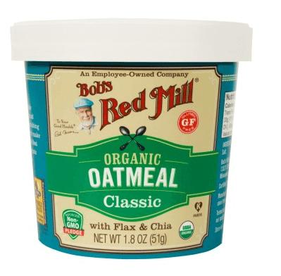 screenshot organic classic oatmeal cup