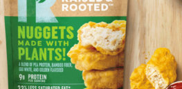 screenshot plant based nuggets blended patties raised rooted