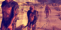 a new theory suggests that human ancestors evolved to walk upright because a supernova caused forest