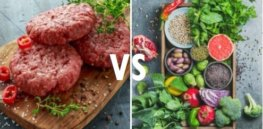 meat vs plants