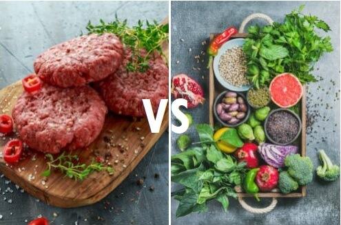 meat vs plants