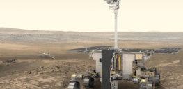 exomars rover pillars