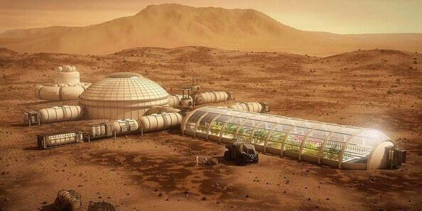 secret mars colony
