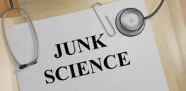 bigstock junk science medical concept