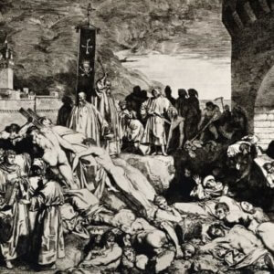 black death gettyimages