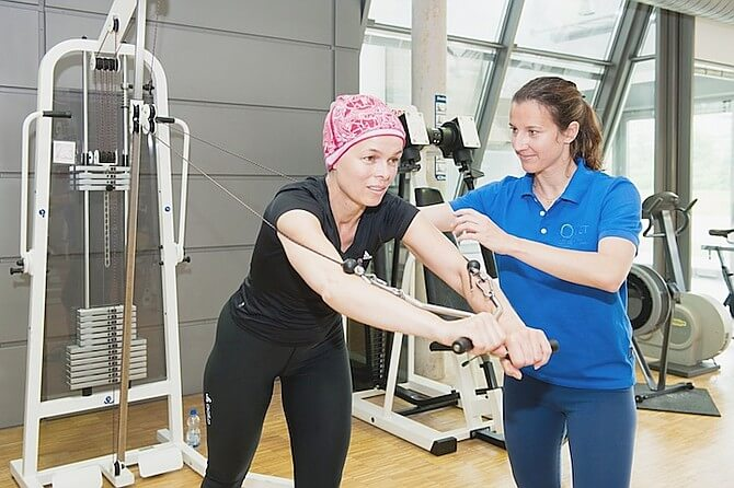 cancer exercise t