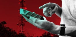 cell tower g smart phone radiation