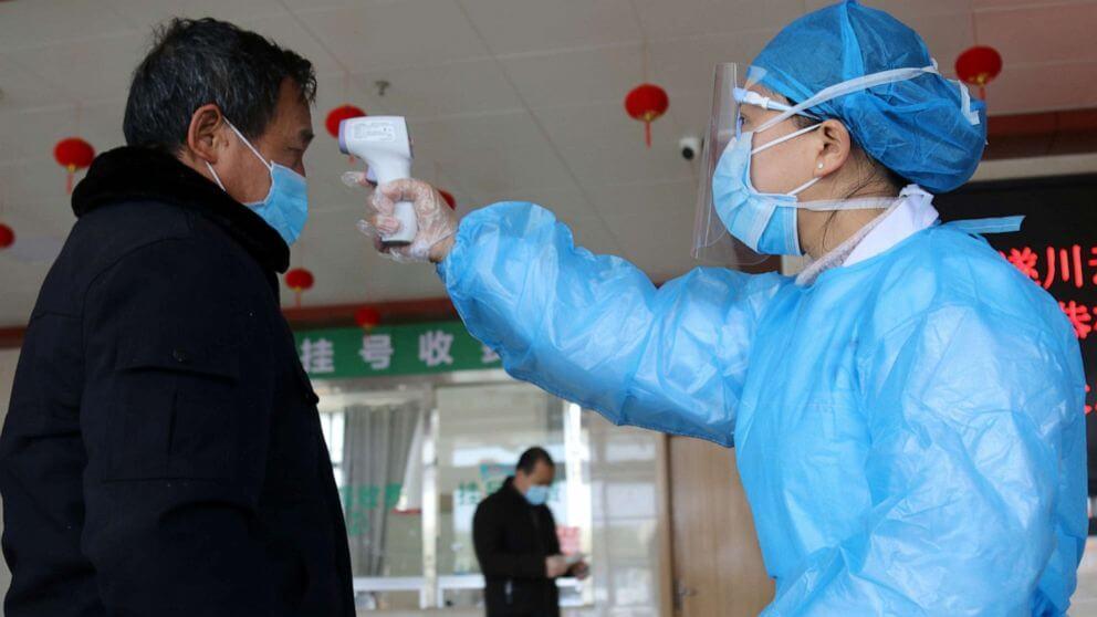 china hospital body temperature coronavirus reuter hpmain x