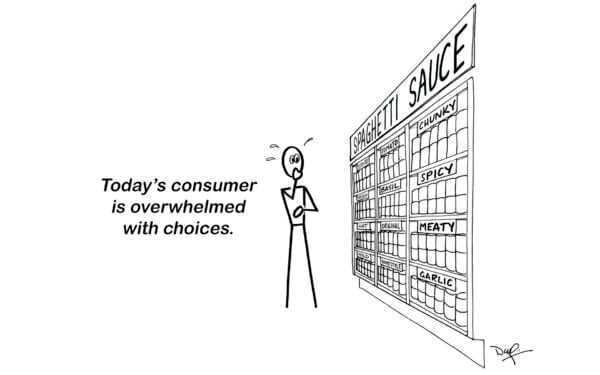 choice aisle cartoon x x