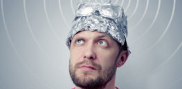 conspiracy theorist tinfoil hat