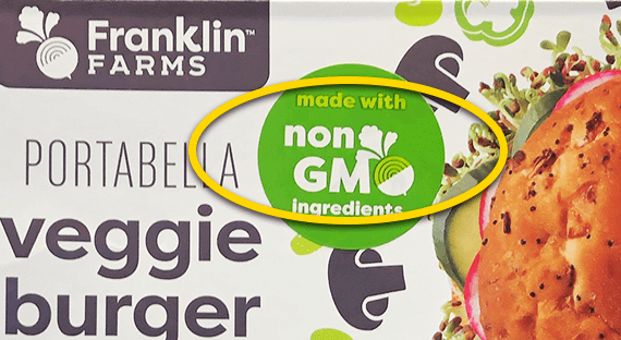 cro food labels non gmo claim veggie burger