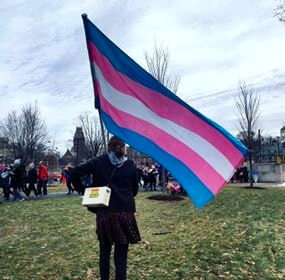 christine trans flag edit