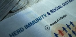 herd immunity threshold could be lower according to new study x