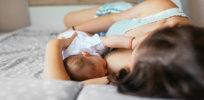 breastfeeding bed x facebook x