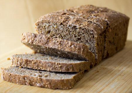 vegan bread looks as good as it tastes like sand