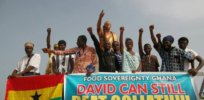 Anti-GMO group Food Sovereignty Ghana sues government to block GM, insect-resistant cowpea distribution