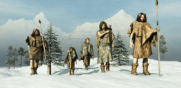 Early humans endured bitter cold without fire during the Plesitocene era