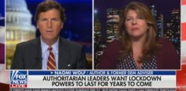 Viewpoint: Fox News provides platform for pandemic conspiracy promoter Naomi Wolf after previously mocking her 'leftist' views