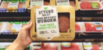 1/3 of 1%: Alternative protein sources such as Impossible Burger still represent a tiny share of consumer purchases — but polling shows consumers are open to switch