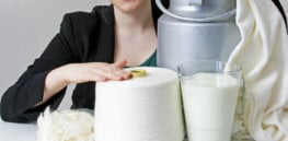 Recycling on steroids: Making new clothes out of spoiled milk