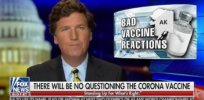 Stirring disinformation: Once relegated to political fringes, vaccine bashing takes center stage with Fox News hosts Tucker Carlson and Laura Ingraham
