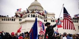 After the failed Capitol riot, far right militias regroup around anti-vaccine conspiracy theories