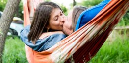 Less than half of cultures around the world indulge in romantic lip kissing — a uniquely human endeavor