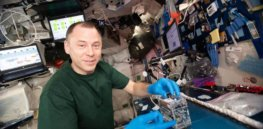 DNA in space: First CRISPR gene-editing study by astronauts opens door to future experimentation