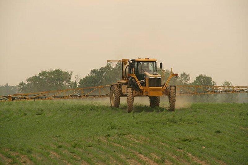 px Rogator Spraying Corn