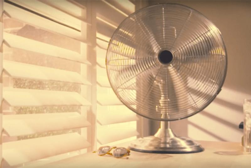 oscillating fan primary