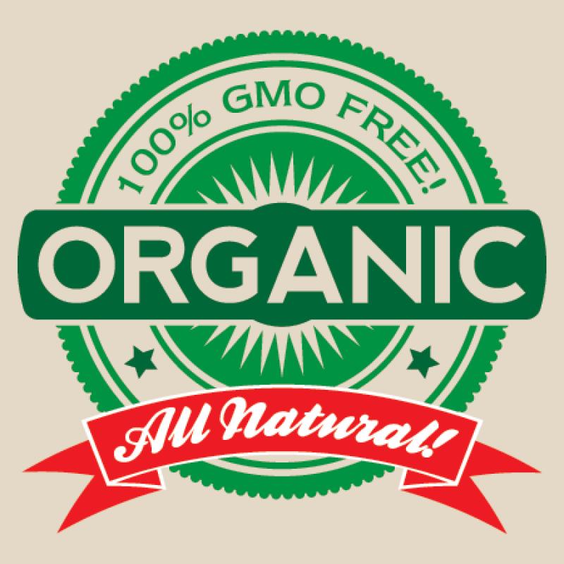 Gmo Free Organic Label