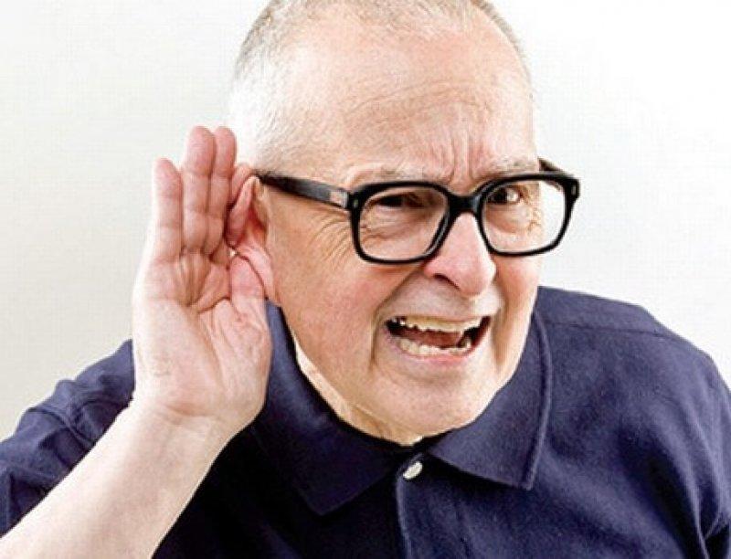 Hearing loss deafness presbyacusis old age