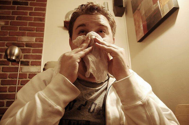 Josh McGinn sneeze