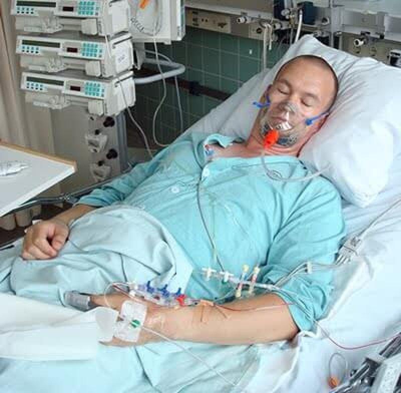 Pneumonia patient