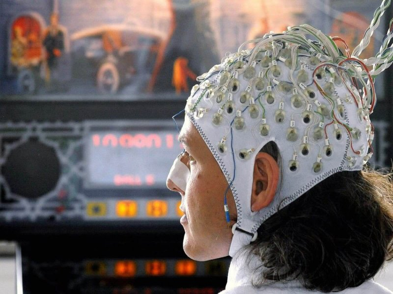 Example of brain-computer interface developed by gaming company Valve. Credit: Independent