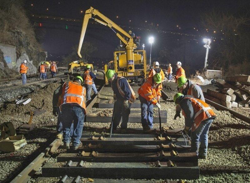 construction work night