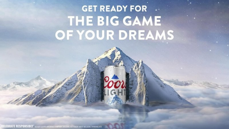 Coors Light developed the first targeted dream incubation advertisement in early 2021. Credit: NewsWire