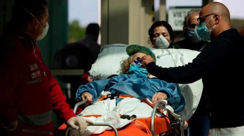covid patient hospital x header