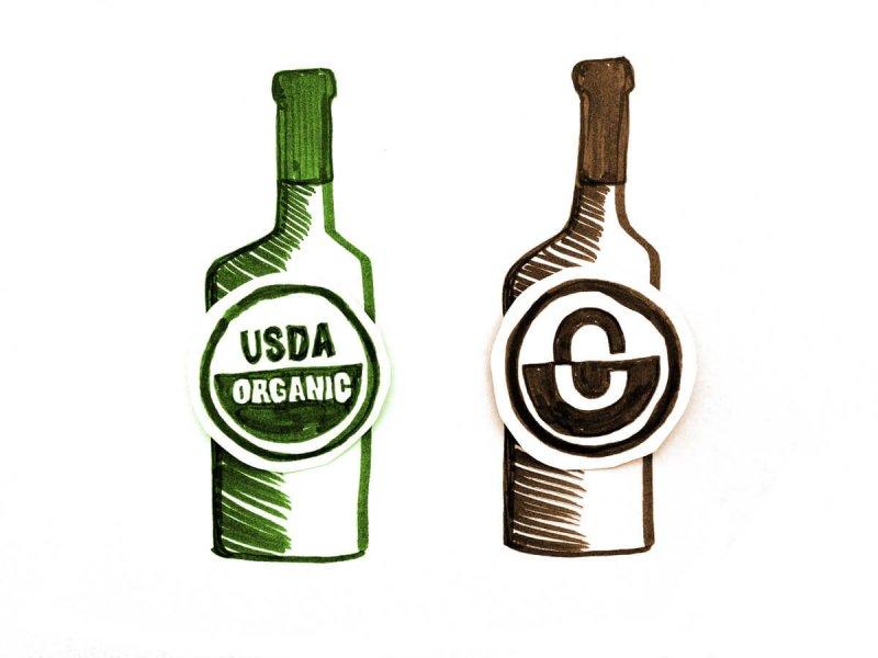 do organic wines age