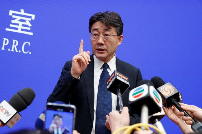 Chinese Center for Disease Control and Prevention Director Gao Fu. Credit: China CDC