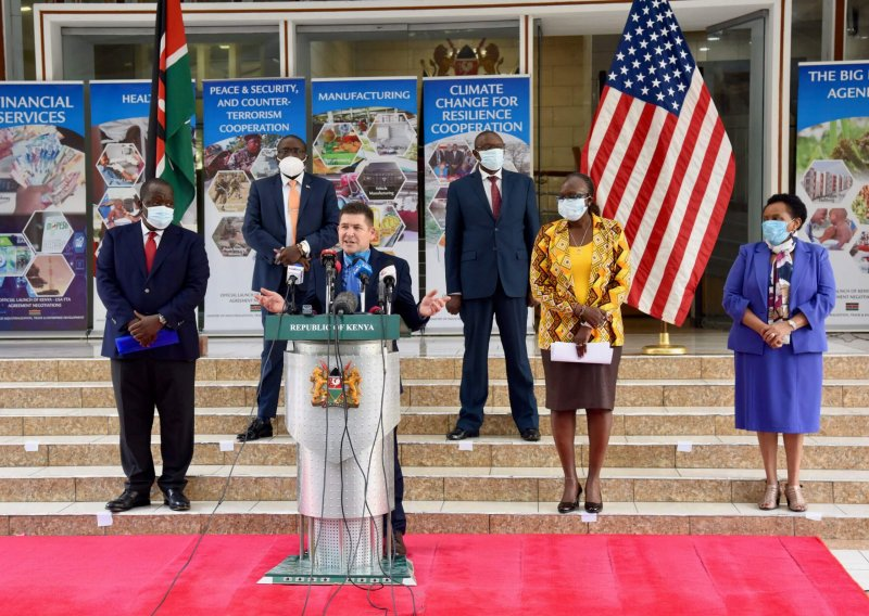 Public statements made at the U.S Embassy in Kenya. Credit: U.S Embassy in Kenya