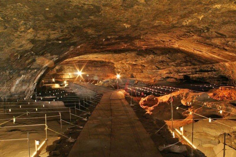 Wonderwerk cave. Credit: Greatstock Photographic Library/Alamy
