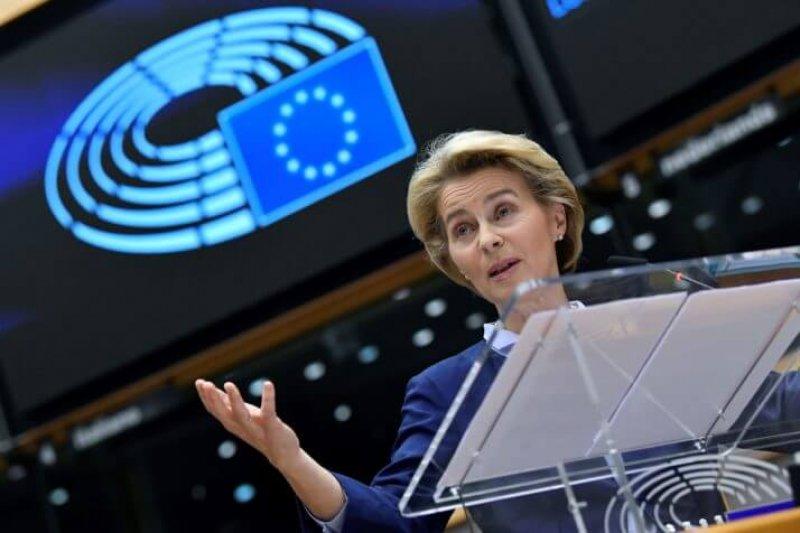European Commission President Ursula von der Leyen. Credit: John Thys/Getty Images