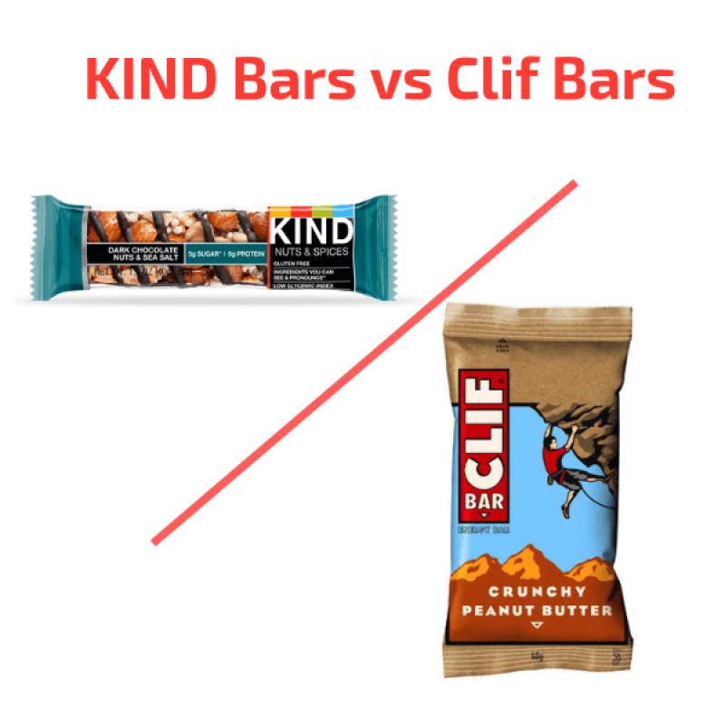 kind bars vs clif bars