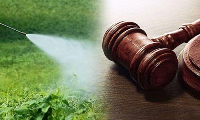 lawsuit court gavel table pesticides