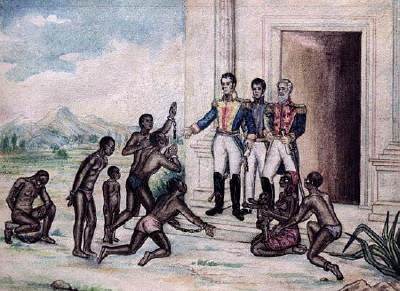 liberation of slaves simon bol