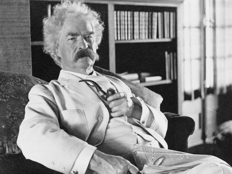 Samuel Clemens, who went by the name Mark Twain. Credit: Pixabay
