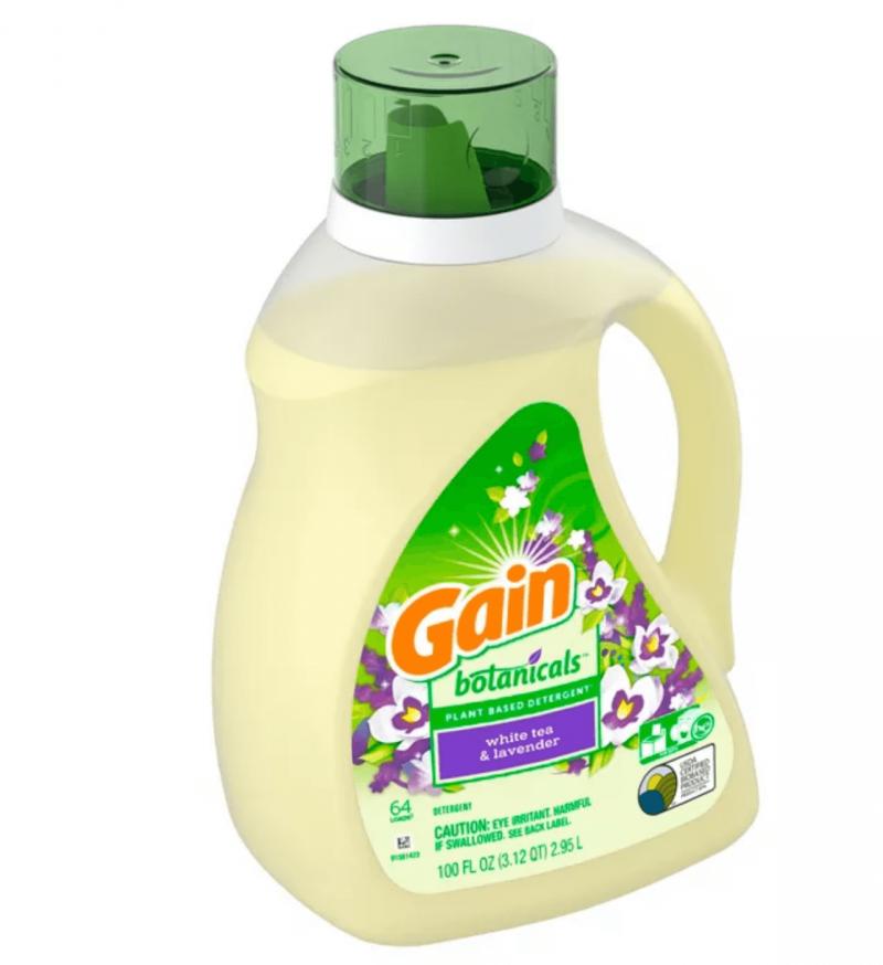 screenshot gain white tea lavender botanicals plant based laundry detergent fl oz