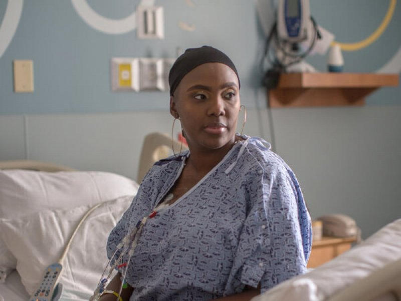 Victoria Gray was diagnosed with sickle cell disease whenshe was an infant. She was considering a bone marrow transplant when she heard about the CRISPR study and jumped at the chance to volunteer. Credit: NPR