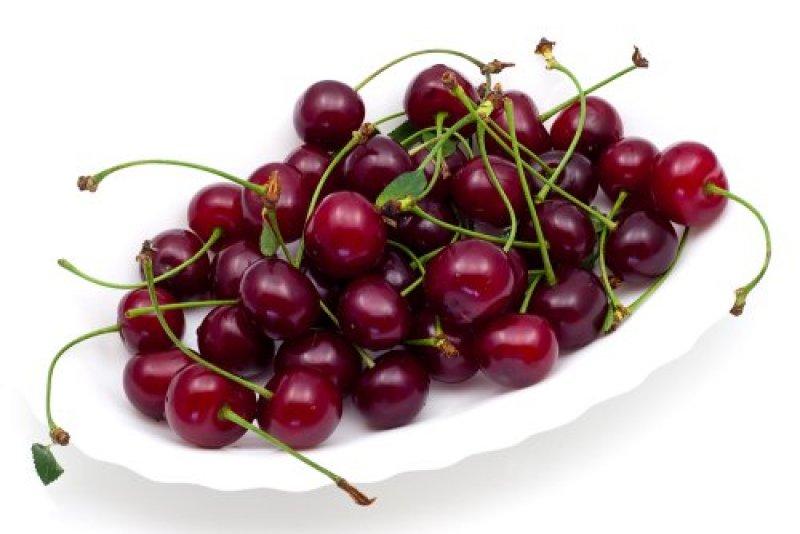 sour cherries bowl